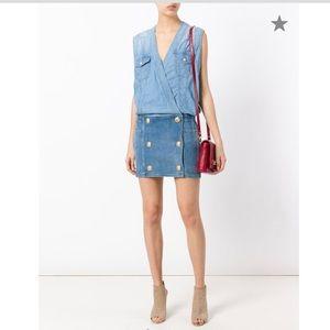 Balmain panel mini dress. Size 34 FR.